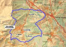 Plano de la cerca historica